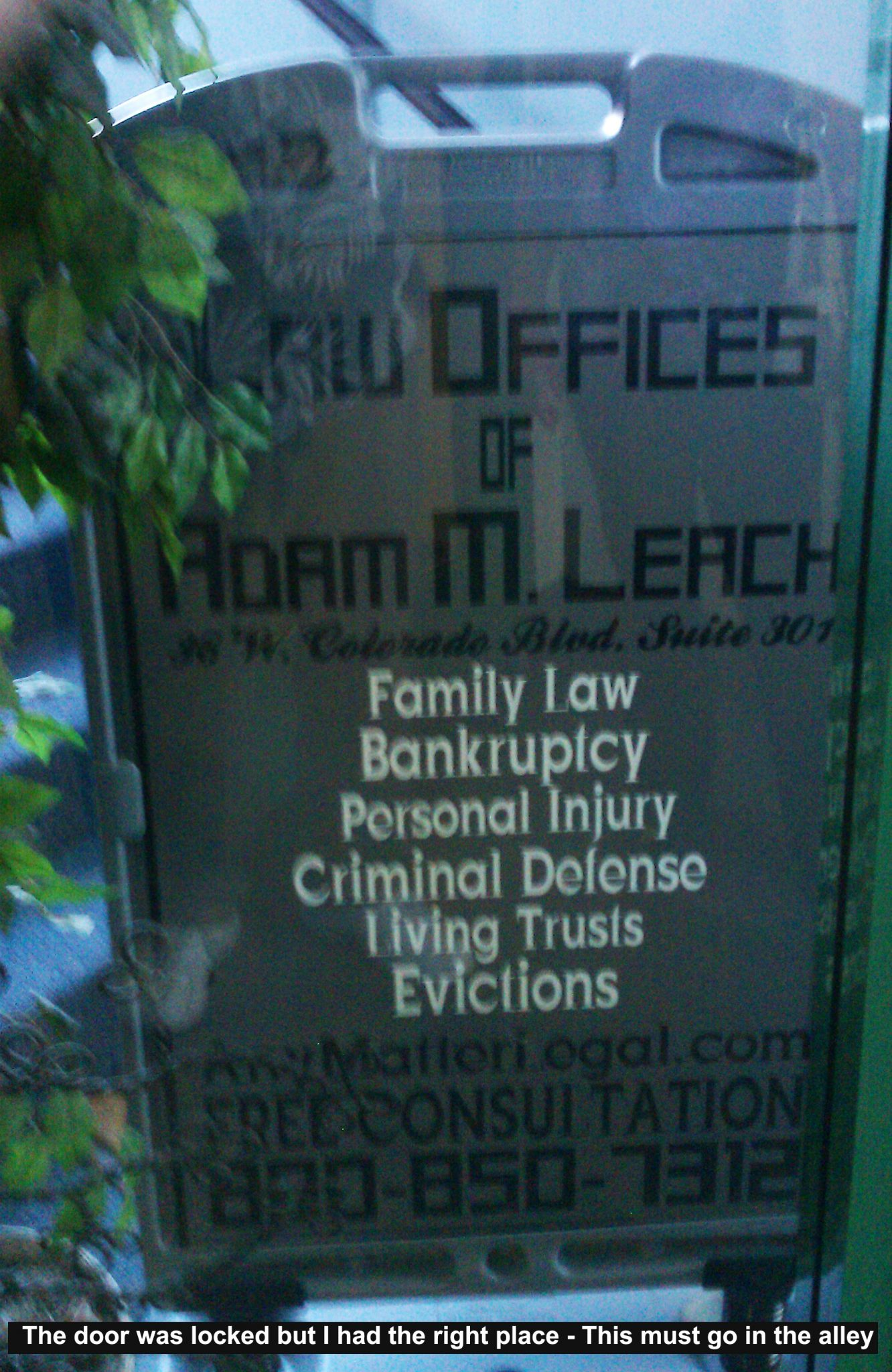 Attorney Adam Leach Family Law Pasadena CA