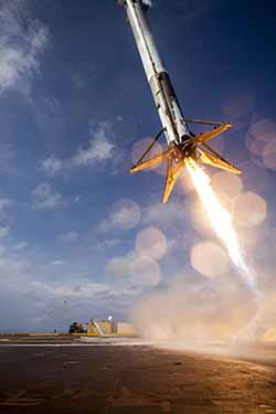 SpaceX Barge Landing