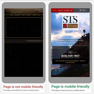 mobile friendly side-by-side image