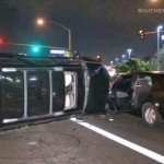 Speeding driver kills pedestrian, hits 6 cars in Buena Park