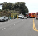 One dead, five hurt in Laguna Beach crash