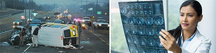 Image of catastrophic crashes