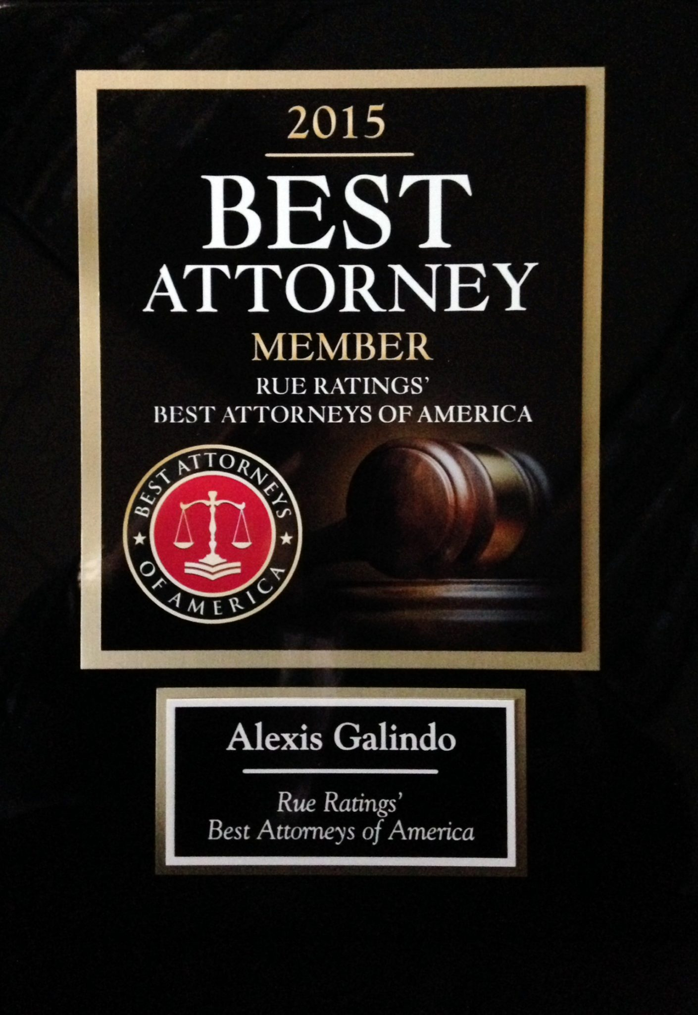 Alexis Galindo Selected for Best Attorneys of America